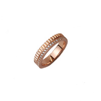 ROSE GOLD DOUBLE BAND RING